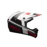 Casco Moto Bell Sx-1 Holeshot Rojo/negro Motociclo