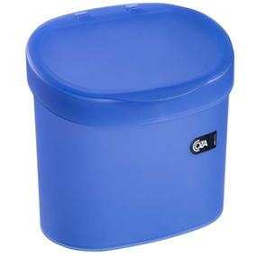 Lixeira 4l, Ideal Para Pia, Azul - Coza