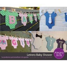 Letrero, Banderin Para Baby Shower, Personalizado