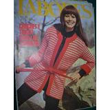 Revista Labores Moda Con Moldes 7/74 Moda Tricot Crochet Rop