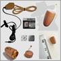 Micro Escuta Ponto Eletronico D Ouvido Fone Espião