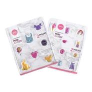 Set De 2 Moldes Placas Mini Candy Parpen