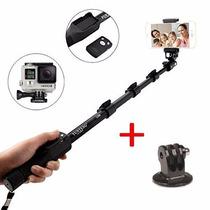 Bastão Selfie Monopod 1288 Alumínio Gopro +tripod +controle