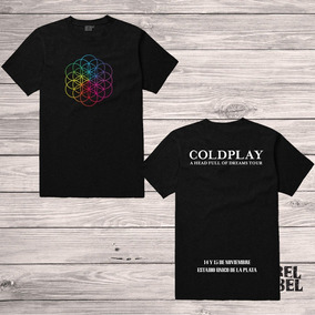 Remera Coldplay Argentina 2017