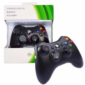 Controle Joystick Xbox 360 Wireless Usb Pc Sem Fio