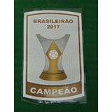 Patch Campeão Brasileiro 2017 Para Camisa Corinthians