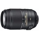 Lente Nikon 55-300 Vr F4-5.6 Nikkor Zoom Estuche Parasol