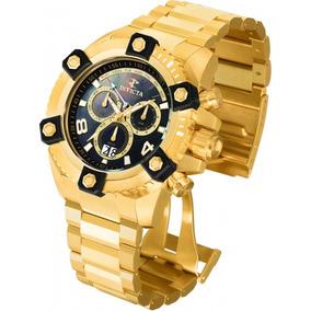 17589b4fbdc Relogio Invicta Serie Ouro Reserve - Relógios De Pulso
