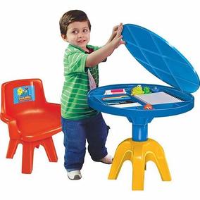 Mesa C/ Cadeira Infantil Galinha Pintadinha Líder Brinquedos