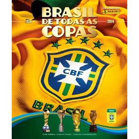 Figurinhas Album Brasil De Todas As Copas