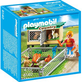 Playmobil Conejeras 6140 Figura Con Accesorios Educando