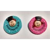 10 Prendedores Porcelana Fría Egresadito Regalo Souvenirs