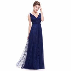 Vestido Longo Import Festa Tule\re Ever Pretty=m=98 Cm Busto