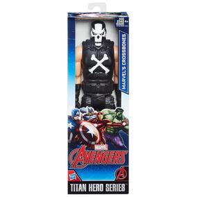 Boneco Avengers Titan Ossos Cruzados - Hasbro