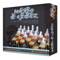 Juego Maestro De Ajedrez - Aprende Jugando Envío Gratis
