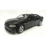 1:24 Dodge Charger R/t 2016 Negro Welly C Caja
