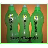 Botellas Agua Personalizada 10 Unidades Con Nombre Y Escudo