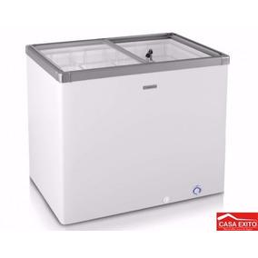 Congelador Indurama Ci-200 Blanco Frost Tapa De Vidrio