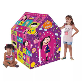 Barraca Infantil Casinha Toca Rosa Show Da Luna - Multibrink