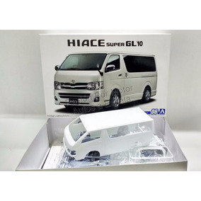 1:24 Toyota Hiace Gl 2010 Blanca Aoshima P Armar Urvan