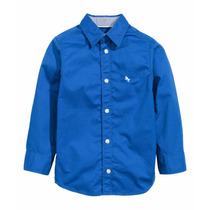 Camisa H&m Niños 100% Algodón Importado Hym