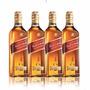 Whisky Johnnie Walker Red Label 1 Lt Pack X4