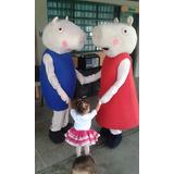 Alquiler De Muñecote De Peppa Y George Show De Peppa Pig