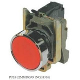 Pulsador Rasante 22mm Push Button (rojo, Verde Y Negro)