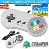 Control Retro Clásico Super Nintendo Snes Usb P/ Pc