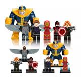 6 Figuras Marvel Avengers Thanos Compatibles Lego