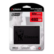 Ssd 480gb Kingston Sa400s37/480gb 2.5 Estado Solido Pc Y Lap