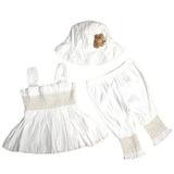 Ropa De Bebé Vestido De Niña Volada + Pantalones