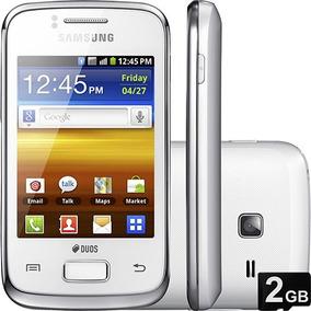Samsung Galaxy Y Duos S6102 Wifi 2 Chips Branco   Vitrine