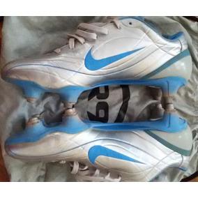 Tacos De Futbol Nike Mercurial Vapor Ii R9 Sg Chrome Blue