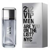 Perfume 212 Men Vip Men X 200ml De Carolina Herrera Original