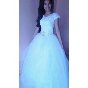 Vestido De Noiva Princesa. Maravilhoso E Elegante,