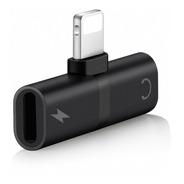 Splitter Premium Lightning Carga + Auriculares iPad iPhone