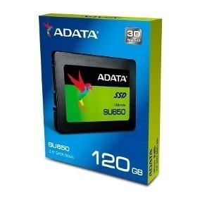 Disco Solido Ssd 120gb Adata Su650ss Black Color Box