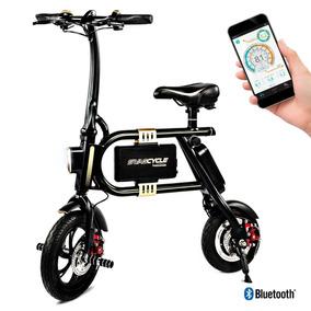 Bicicleta Electrónica Y Plegable Swagtron Swagcycle