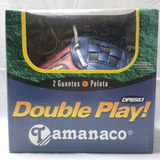 Tamanaco Double Play 2 Guantes + Pelota Dp8583 Niños De 4-8