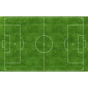 5b41039026 Papel De Parede Campo De Futebol 3d - Revestimiento de Parede em São ...