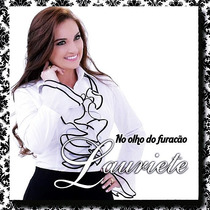 Cd + Playback Lauriete - No Olho Do Furacão (original)