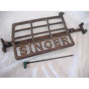 Pedal E Roda Da Maquina Singer Original