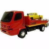 Caminhão Brinquedo Resgate Guincho Plataforma Reboque Accelo