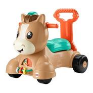 Juguete Fisher Price Pony Camina Conmigo-café Bestoys