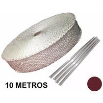 Fita Térmica Branca, Termotape Escape 10 Metros E 04 Zip Tie