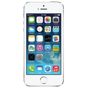 Iphone 5s 16gb Prateado Muito Bom Seminovo C/ Garantia E Nf