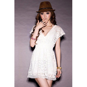 Blusa Encaje Corte Princesa Primavera Verano Moda Japonesa