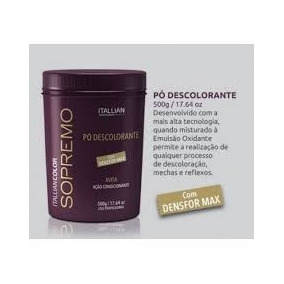 Pó Descolorante Sopremo Itallian Color 500g