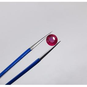 Rubi Natural Redondo 0,94 Ct 5,50mm Diâmetro Com Certificado